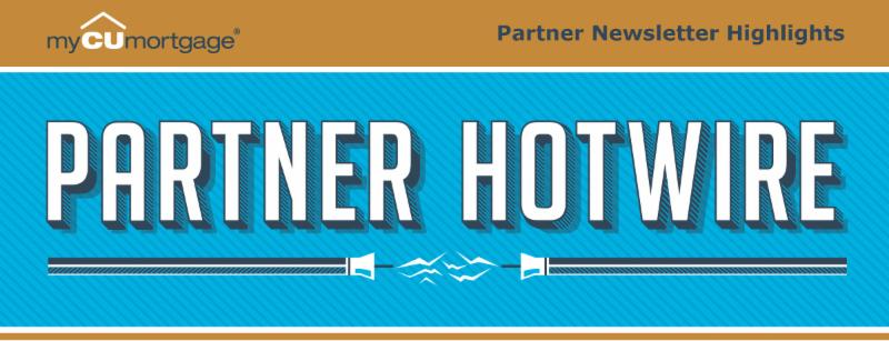myCUmortgage Partner Hotwire e-Newsletter